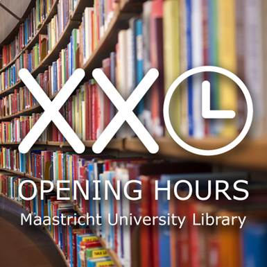 XXL hours during pre-exam weeks in the library